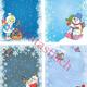 Зимние и новогодние фоны для оформления