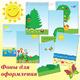 Летние фоны для оформления папок-передвижек в детский сад