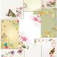 Цветочные фоны для оформления работ 2