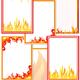 Шаблоны для оформления стендов про пожарную безопасность