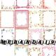 Цветочные рамки для оформления работ