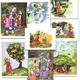 Иллюстрации для занятий с детьми Гуси-лебеди