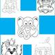 Маски животных и сказочных персонажей для раскрашивания