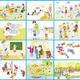 Сюжетные картинки. Детский сад