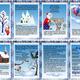 Папка-передвижка о зиме и зимних месяцах