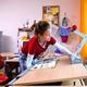 Советы по обустройству детской комнаты для первоклассника. О...
