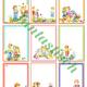Фоны - шаблоны с детьми для оформления работ