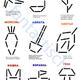 Картотека занятий - схемы рисунков из счетных палочек с зага...