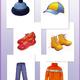 Дидактический материал на тему - Одежда, обувь, головные убо...
