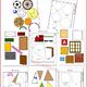 Геометрические фигуры - Игра трафарет