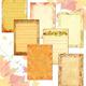 Фоны для оформления работ Славная осень