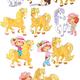 Шарлотта Земляничка и лошадки - Strawberry Shortcake