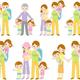 Клипарт на прозрачном фоне - Семья