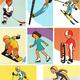 Дидактический материал на тему - Зимние виды спорта