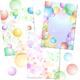 Фоны с мыльными пузырями