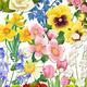 Цветы для оформления работ
