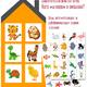 Дидактическая игра для детей - Кого мы видим в окошках?
