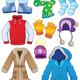 Дидактический материал - Зимняя одежда, аксессуары