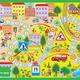 Настольная игра для детей Путешествие по городу