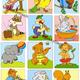 Сюжетные картинки для малышей Действия