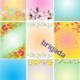 Цветочные фоны для оформления