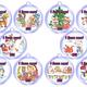 Новогодние медальки для детей
