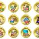Медальки для первоклассников