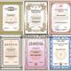 Шаблоны поздравительных бланков для награждения - Сертификат...
