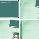 """Шаблон для оформления школьных презентаций """"Классная доска"""""""
