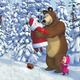 Пазлы для детей. Маша и Медведь