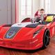 Кровать-машина – важная составляющая дизайна детской комнаты...