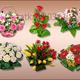 Клипарт для фотошопа - Композиции цветочные