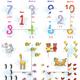 Математические карточки для детей. Обучение счету до 10