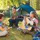 Летний палаточный лагерь для детей