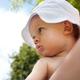 Уход за ребенком летом в жаркие дни