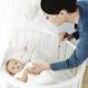 Украшение детской кроватки малыша