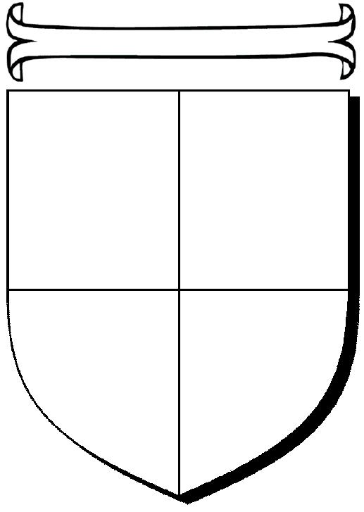 герб семьи шаблоны образцы распечатать