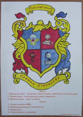 Как сделать свой герб с инициалами