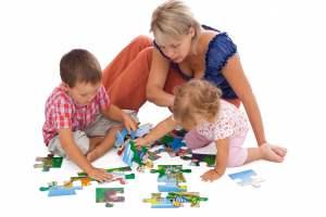 Пазлы для детей своими руками