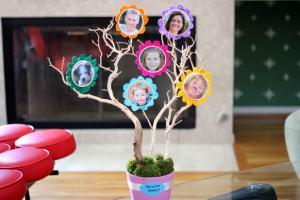 Родословное древо семьи своими руками - У меня растут года 52