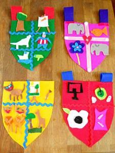 как сделать герб семьи в детский сад, герб семьи для детского сада, как сделать герб семьи