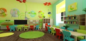 оформление группы в едином стиле, картинки для оформления группы, картинки для уголков в группе детского сада