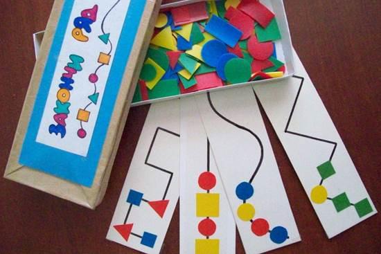 Дидактическая игра для средней группы по математике