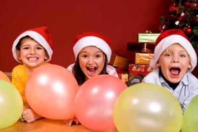 новогодние конкурсы для детей, интересные конкурсы на новый год