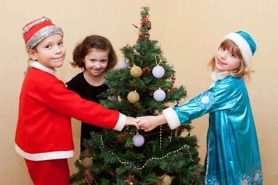 развлечения на новый год, игры на новый год для детей