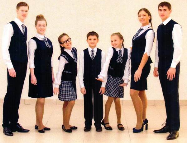 модная школьная форма, модная школьная одежда для девушек