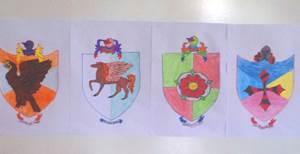 как нарисовать герб семьи своими руками