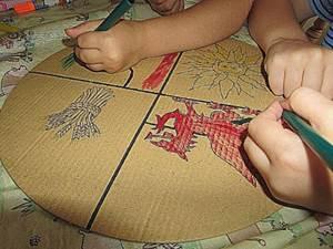 герб семьи нарисовать