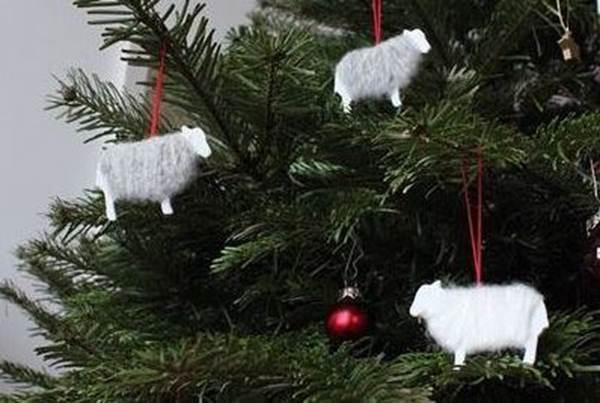 большая новогодняя игрушка на елку своими руками украсить дом на новый год
