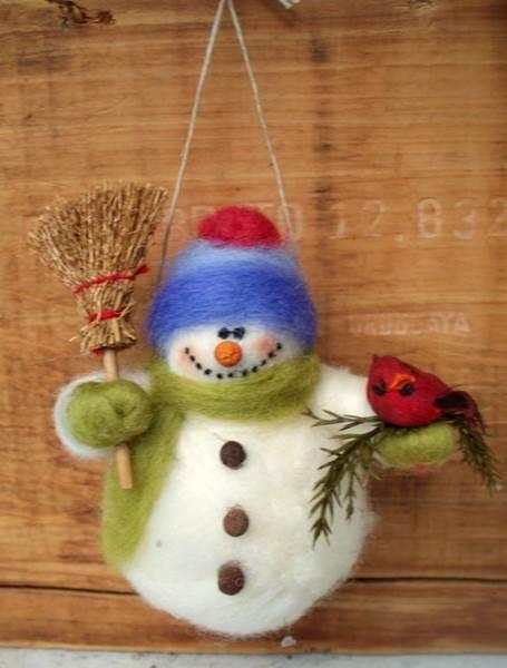 игрушки своими руками на елку